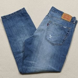 Levi's 541 Distressed Athletic Fit Tapered 37x30